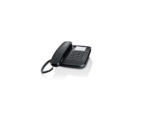 Телефон Gigaset DA310 Black (проводной) телефон проводной gigaset da 210 im white