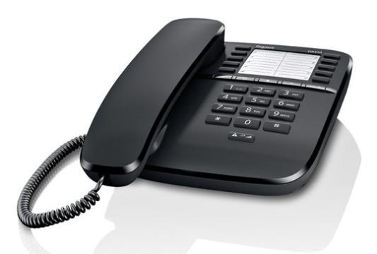цена на Телефон Gigaset DA510 Black (проводной)