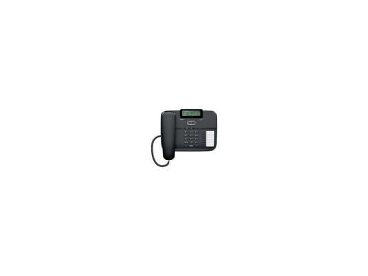 Фото - Телефон Gigaset DA710 Black (проводной, ЖКИ, АОН) телефон проводной gigaset da210 black