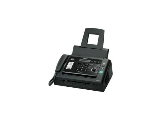 Факс Panasonic KX-FL423RU black (обыч. бумага, лазерный)
