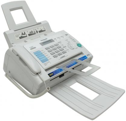 Факс Panasonic KX-FL423RU white (обыч. бумага, лазерный)