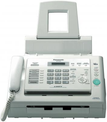 Факс Panasonic KX-FL423RU white (обыч. бумага, лазерный) от 123.ru