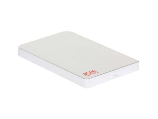 """Мобил рек AgeStar 3UB2O1 (Silver)   алюминий, USB 3.0   для 2.5"""" SATA HDD"""