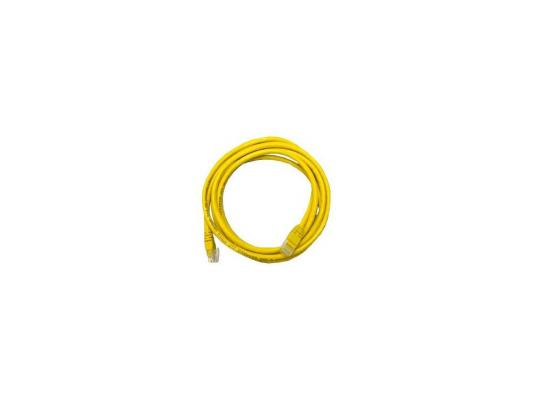 Кабель Patch cord UTP 5 level 1m   Желтый