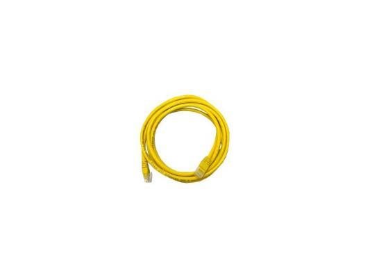 цена Кабель Patch cord UTP 5 level 5m Желтый онлайн в 2017 году