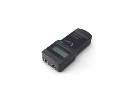 Тестер LAN Gembird NCT-3, для RG-45, RG-58, RJ-12,11 кримпер для обжима f и bnc разъёмов rg 59 rg 58 rg 62 ht 301 a rexant