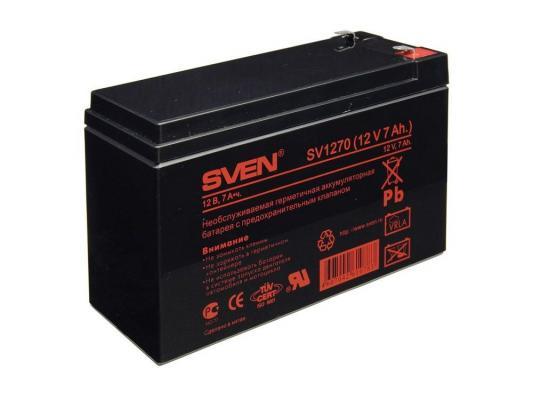 все цены на Аккумулятор Sven SV 12V 7Ah онлайн