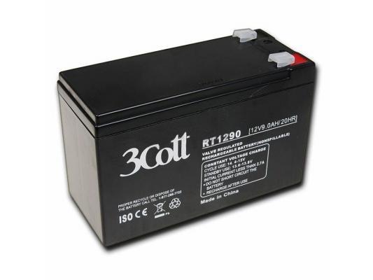 Аккумулятор 3Cott 12V9Ah аккумулятор