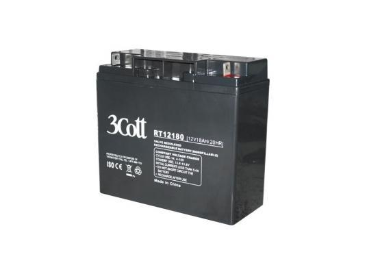 Аккумулятор 3Cott 12V18Ah