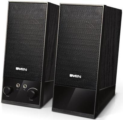 Колонки Sven SPS-604  2х2Вт  черные