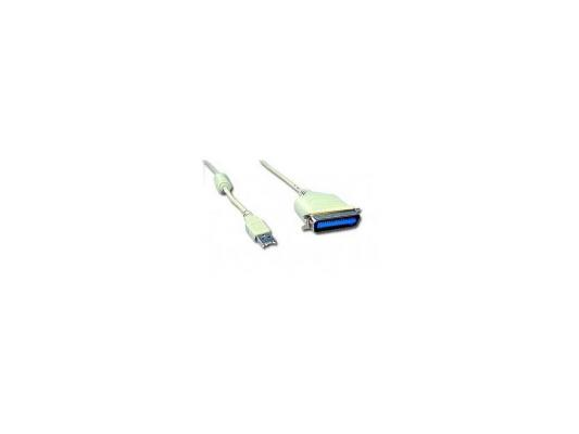 Кабель-адаптер USB AM <-> LPT C36m Gembird 1.8м CUM-360, блистер viewcon usb lpt адаптер viewcon ve143