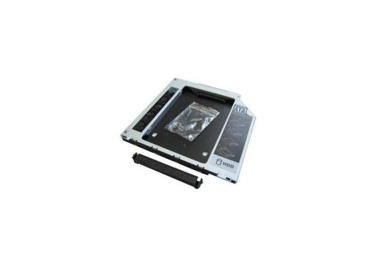 Переходник dvd slim 9,5 mm to hdd (mini sata to sata) Espada SS95U переходник usb to sata espada paub023