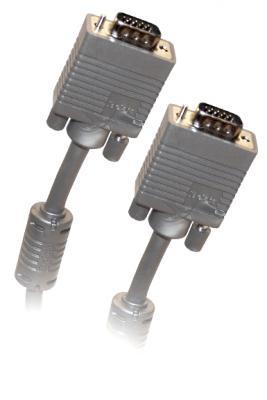 Кабель Belsis VGA/SVGA вилка - VGA/SVGA вилка , длина 10 м. BW1476 аксессуар belsis vga svga to vga svga 5m bw1773