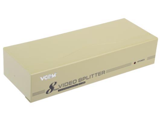 Разветвитель VGA 1 to 8 VS-98A Vpro mod:DD128 350MHz <VDS8017>