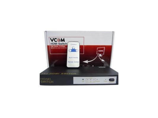 Переключатель HDMI 3 =>1 Vcom <VDS8030> переключатель vcom hdmi 3 1 [vds8030]