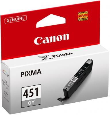 Картинка для Струйный картридж Canon CLI-451GY серый для iP7240/MG5440/MG6340