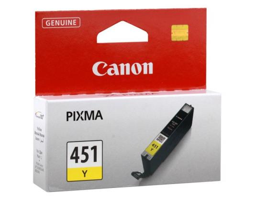 Картридж Canon CLI-451Y жёлтый MG6340, MG5440, IP7240 .  344 страниц. картридж для принтера colouring cg cli 426c cyan