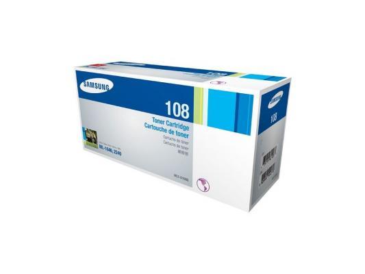 Тонер-картридж Samsung MLT-D108S картридж samsung mlt d108s
