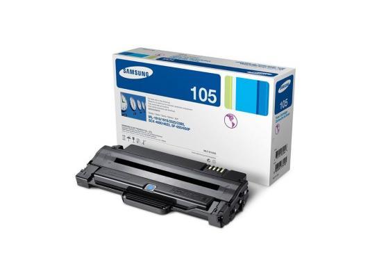 Тонер-картридж Samsung MLT-D105S тонер картридж samsung mlt k606s see для scx 8040nd черный 35000стр