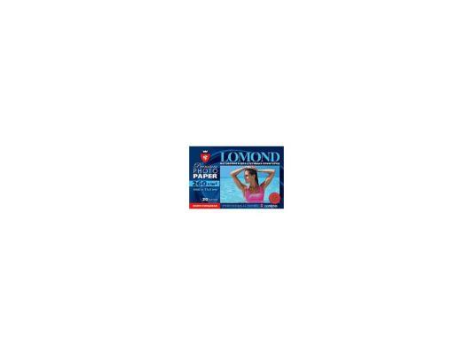 Бумага Lomond 1103302  (100*150, 260гр, 20л) Premium Полуглянцевая, 1стор.