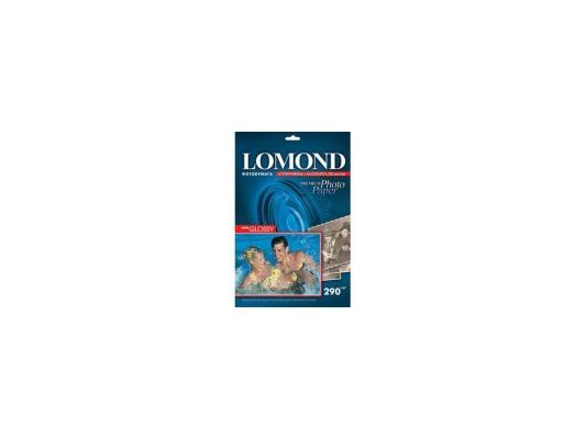 Бумага Lomond 1108100 (A4, 290гр, 20л) Photo Глянцевая, 1 стор.