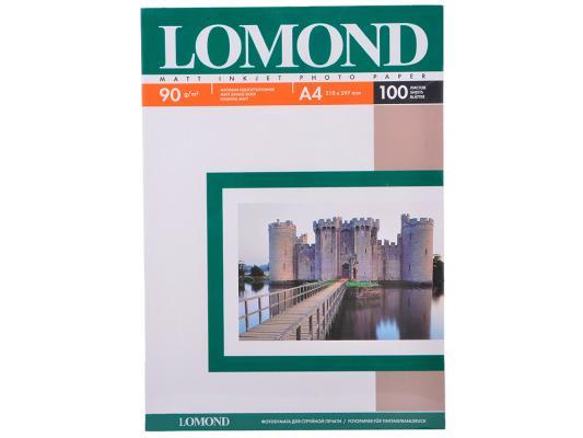 Бумага Lomond 0102001 (A4, 90гр, 100л) Photo Матовая lomond photo 130 a4 100л бумага матовая двухсторонняя