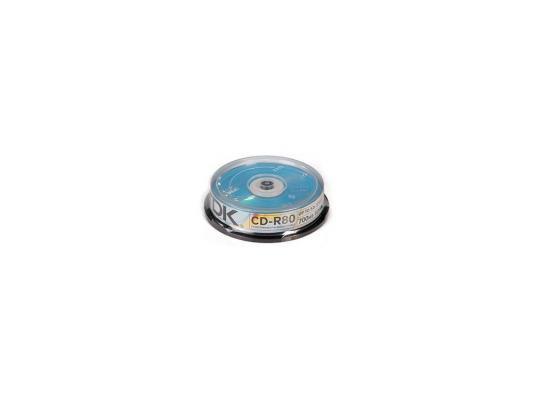Диски CD-R 80min 700Mb ТDK 52х 10 шт Cake Box
