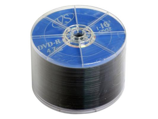 Диски DVD-R 4.7Gb VS 16х 50 шт Bulk dvd r vs 4 7gb 16х 10шт cake box