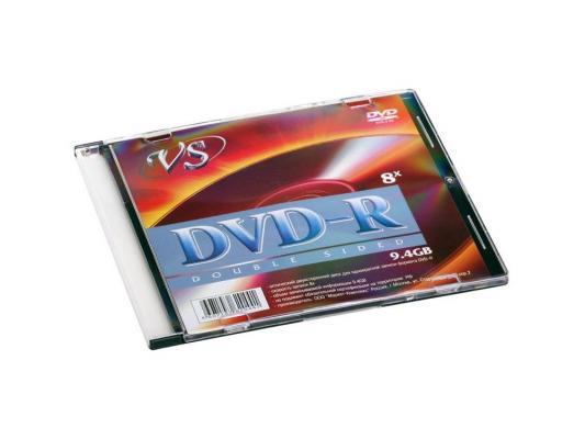 Диск DVD-R 9.4Gb VS 16х  Duble Side  Slim