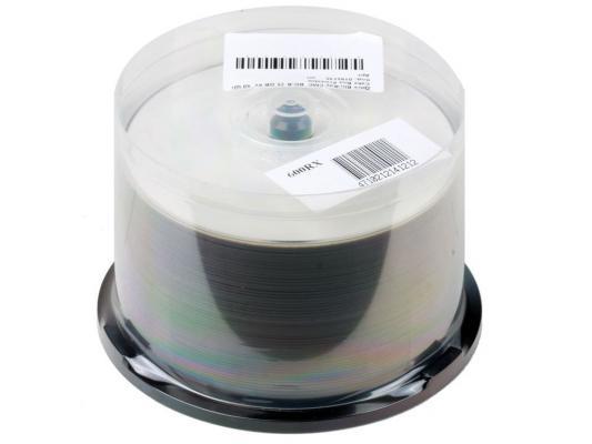Диск Blu-Ray CMC BD-R 25 GB 6x  50 Шт  Cake Box Printable