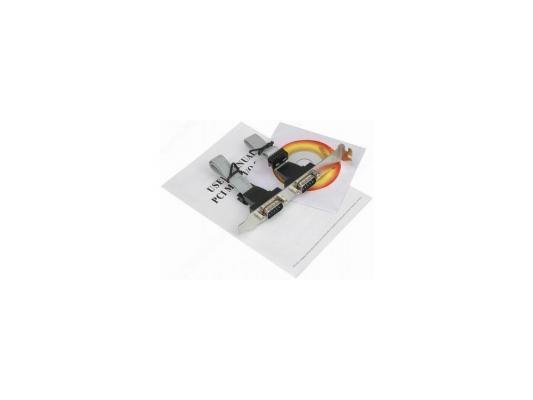 Контроллер Orient XWT-PS054, PCI --> 4xCOM, Moschip 9865, ret