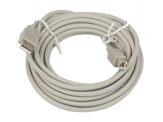 Кабель USB 2.0 AM/BM 5м Telecom кабель nym j 3х6 0 5м гост