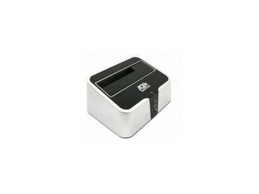 Док станция  AgeStar 3UBT2  USB 3.0  2.5-3.5 agestar разветвитель автоприкуривателя agestar as 0100 3 прикуривателя и usb 500ma