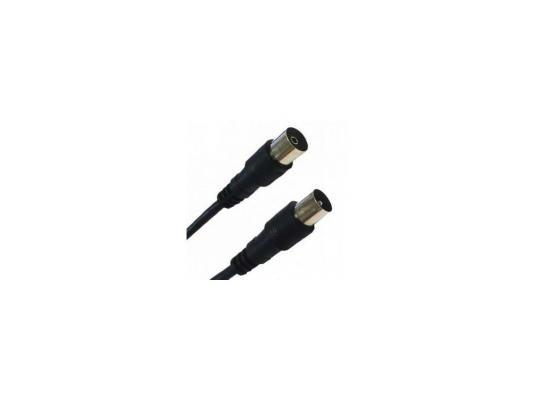 Кабель Belsis ТВ вилка <--> ТВ розетка, антенный, 1.8м, серия Sparks BL1071 кабель 3 5m 2xrca 5м belsis sn1038 sparks nickel стерео аудио 3 5mm plug 2xrca