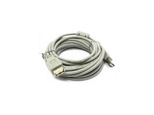 Кабель удлинитель USB 2.0 АM/AF 5 м Belsis, с одним ф/фильтром, BW1405 кабель удлинитель usb 2 0 аm af 5 м belsis с одним ф фильтром bw1405