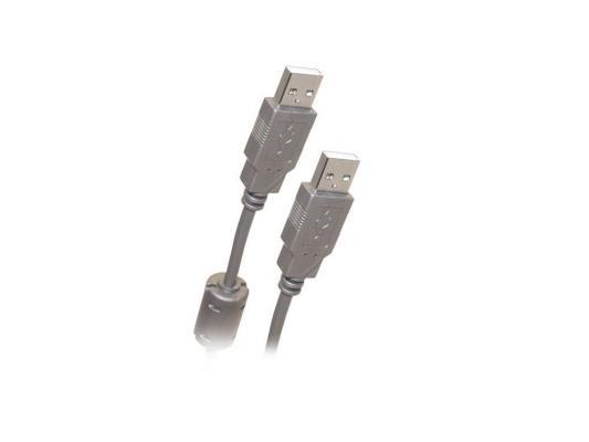 Кабель Belsis USB 2.0 АM/AM 1.8m, с ф/фильтром, BW1403 кабель удлинитель usb 2 0 аm af 5 м belsis с одним ф фильтром bw1405