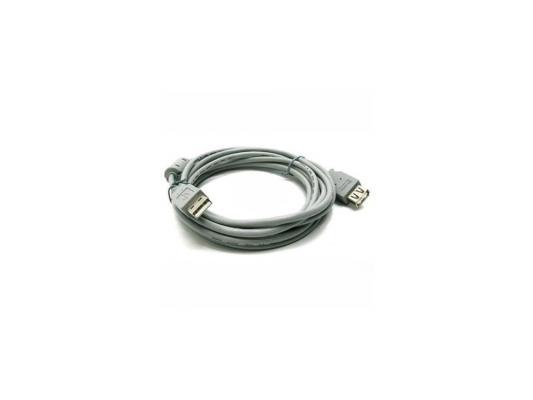 Кабель удлинитель USB 2.0 АM/AF 3 м Belsis, с одним ф/фильтром, BW1402 кабель удлинитель usb 2 0 аm af 5 м belsis с одним ф фильтром bw1405