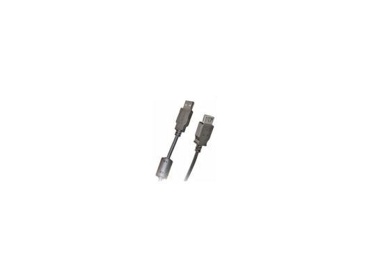 Кабель удлинитель USB 2.0 АM/AF 1.8 м Belsis, с одним ф/фильтром, BW1401 сетевые фильтры belsis сетевой удлинитель 4 розетки 4 usb порта длина 1 500