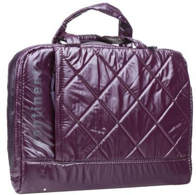 "Сумка для ноутбука 12"" Continent CC-071 Violet полиэстр цена и фото"