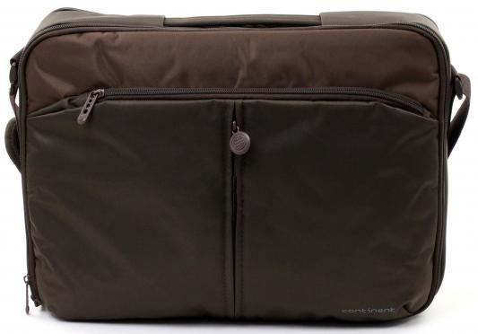 """Сумка для ноутбука 15.6"""" Continent CC-02 Chocolate нейлон"""
