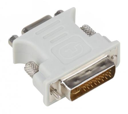 Переходник Aopen DVI-I --> VGA(15F) <ACA301> переходник buro dvi i m vga f vga 15f dvi i plug