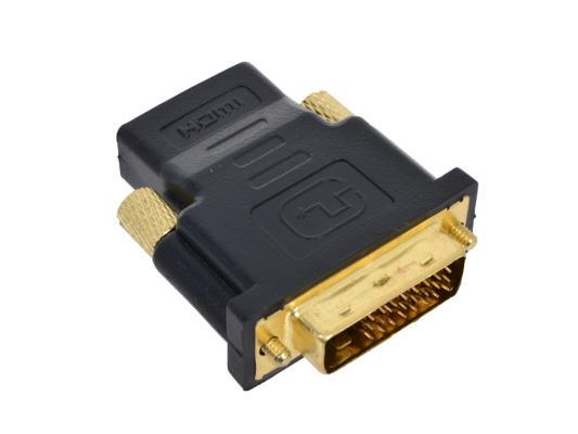 Переходник Orient C485, HDMI F - DVI M (24+5) (мама-папа) переходник onetech vhd0101 hdmi dvi d