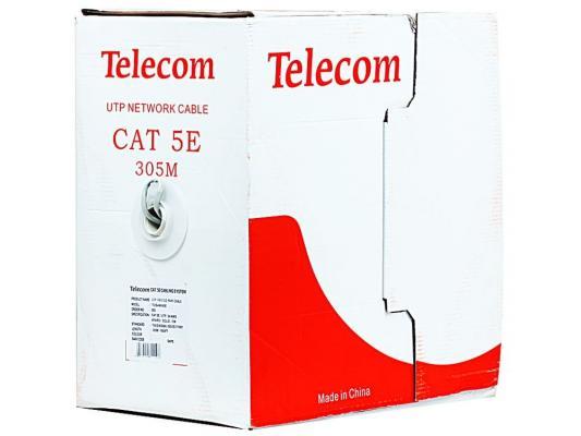 Кабель Telecom Ultra Light UTP 4 пары кат. 5е (бухта 305м) омедненный TUS 44040E