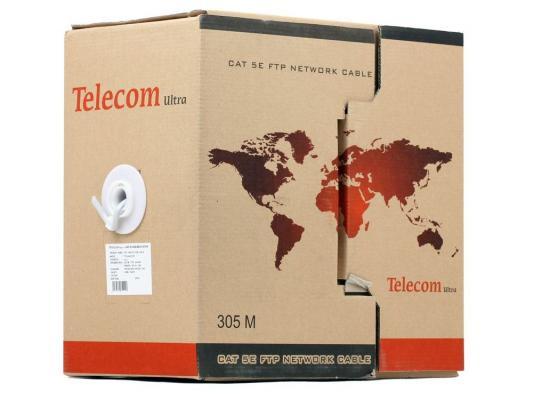 Кабель Telecom Ultra FTP 4 пары кат.5е (бухта 305м) p/n: TFS44050E\\44048e
