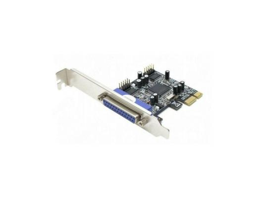 цены на Концентратор USB ST-Lab I294  3 ext (2 com + lpt) PCI-E, Retail в интернет-магазинах