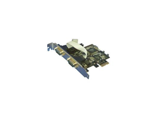 Контроллер Orient XWT-PE2S, PCI-E --> 2xCOM, OXPCIe 952, oem