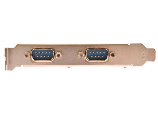 Контроллер Orient XWT-PE2S, PCI-E --> 2xCOM, ret контроллер pci e wch382 1xlpt 2xcom ret [asia pcie wch 2s1p lp]