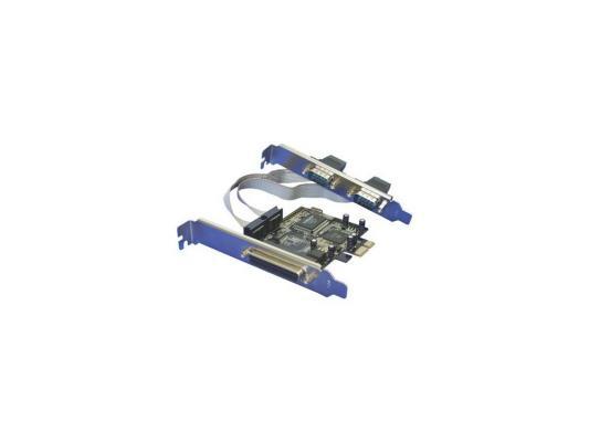 Контроллер Orient  XWT-PE2S1P, PCI-E --> 2xCOM+1LPT, MCS9901CV, oem pci e контроллер 2s1p 2 serial 1lpt orient xwt pe2s1pv2