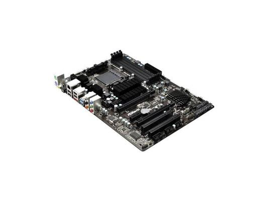 Материнская плата ASRock 970 Extreme 3 R2.0 <SAM3+, AMD 970 + SB950, 4*DDR3, 2*PCI-E16x, SATA Raid, SATA III, GB Lan, ATX, Retail>>