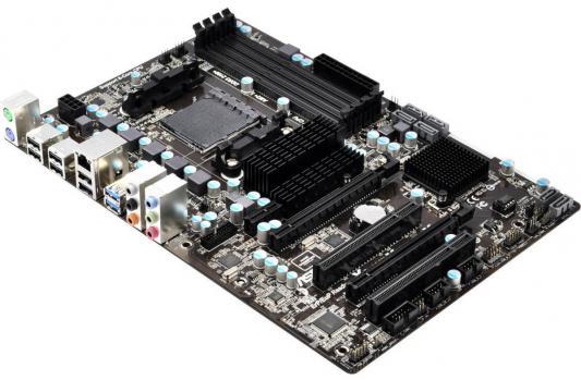 Мат. плата для ПК ASRock 970 Pro3 R2.0 Socket AM3+ AMD 970 4xDDR3 2xPCI-E 16x 2xPCI 1xPCI-E 1x 6xSATAIII ATX Retail